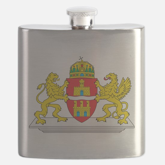 Budapest Coat Of Arms Flask