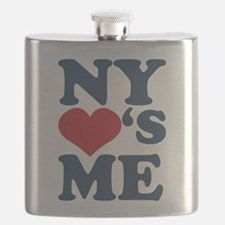 NY Loves Me Flask