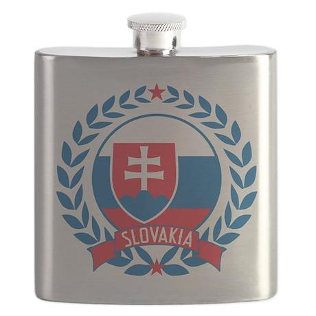 Slovakia Wreath Flask