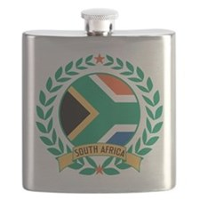 South Africa Wreath Flask