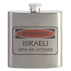 Attitude Israeli Flask