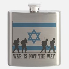 Anti War Israel Flask