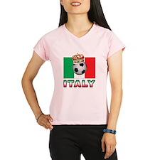 Italy Football Performance Dry T-Shirt
