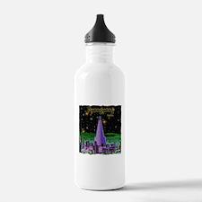 north korea pyongyang Water Bottle