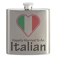 Happily Married Italian Flask