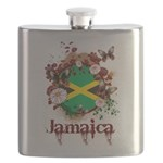 Butterfly Jamaica Flask