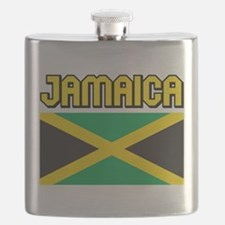 Jamaica Flag Flask