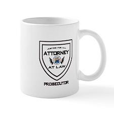 Attorney Badge - Prosecutor Mug