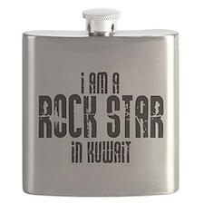 Rock Star In Kuwait Flask