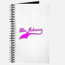 Mrs Johnson Journal