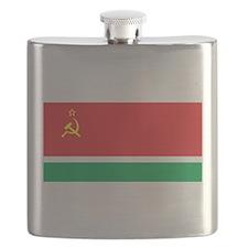 Lithuanian SSR Flag Flask