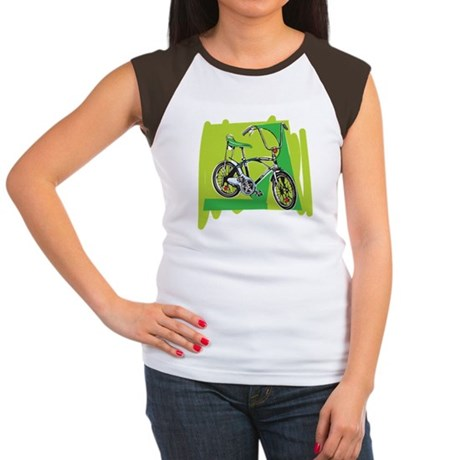 Vintage Boy's Bike Women's Cap Sleeve T-Shirt