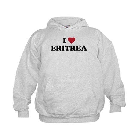 I Love Eritrea Kids Hoodie