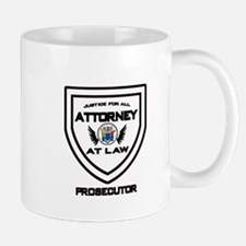 Attorney Badge - Prosecutor Mugs