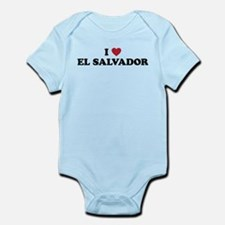I Love El Salvador Infant Bodysuit