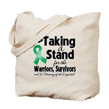 Stand Liver Cancer Tote Bag