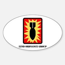 SSI - 52nd Ordnance Group with Text Decal