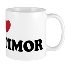 I Love East Timor Mug