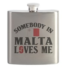 Somebody In Malta Flask
