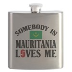 Somebody In Mauritania Flask