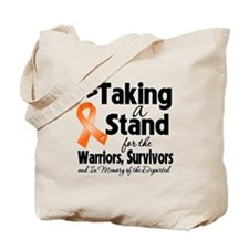 Stand Leukemia Tote Bag