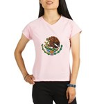 Mexico Coat Of Arms Performance Dry T-Shirt