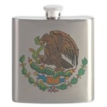 Mexico Coat Of Arms Flask