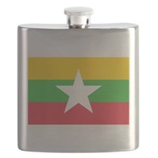 Myanmar Flag Flask