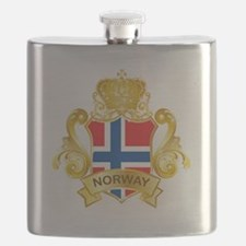 Gold Norway Flask
