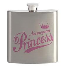 Norwegian Princess Flask