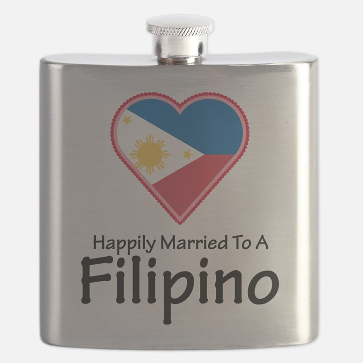Happily Married Filipino Flask