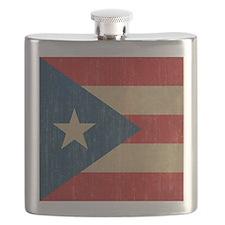 Vintage Puerto Rico Flask