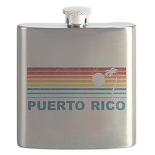 Cute Puerto rico Flask