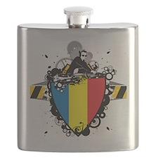 Hip Romania Flask