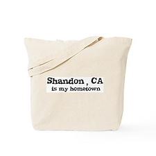 Shandon - hometown Tote Bag
