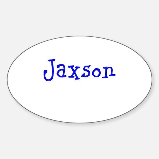 Jaxson Sticker (Oval)