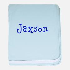 Jaxson baby blanket