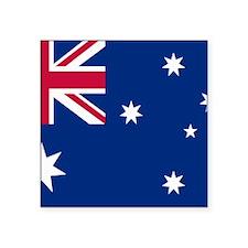 """Australia Flag Square Sticker 3"""" x 3"""""""