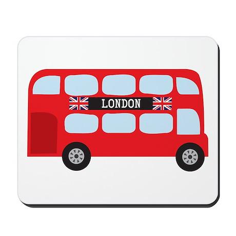 London Double-Decker Bus Mousepad