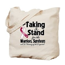 Stand Head Neck Cancer Tote Bag