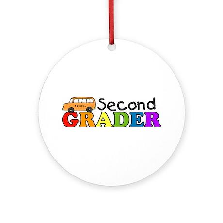 Second Grader Ornament (Round)
