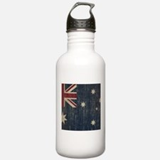 Vintage Australia Flag Water Bottle