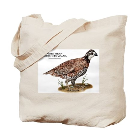 Northern Bobwhite Quail Tote Bag
