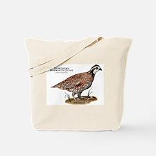 Northern Bobwhite Quail Tote Bag