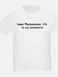 Lake Nacimiento - hometown Kids T-Shirt