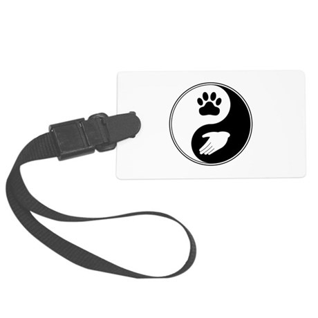 Universal Animal Rights Large Luggage Tag