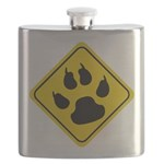 cat-crossing-sign.... Flask