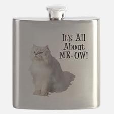 Meow Persian Cat Flask