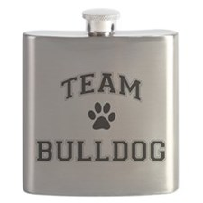 Team Bulldog Flask