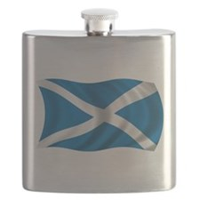 Wavy Scotland Flag Flask